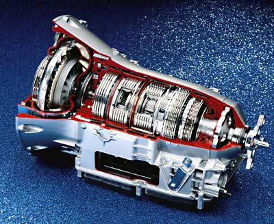 Mercedes-Benz CLK automatic transmission