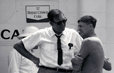 Bill France Sr. founded NASCAR and built Daytona International Speedway.