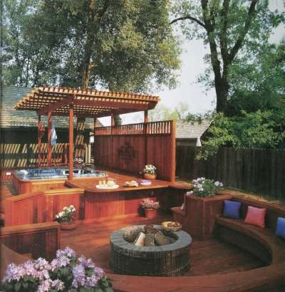 Deck Ideas Warm Gathering Places Howstuffworks
