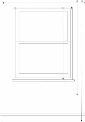 Measuring Windows for Blinds and Curtains