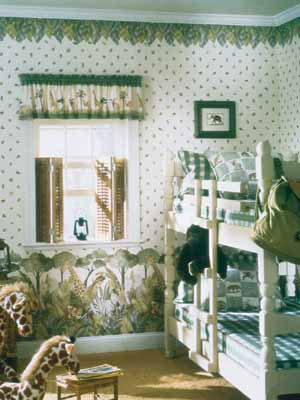 How to Choose Patterns When Decorating Kids' Rooms