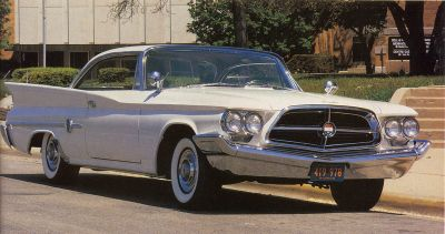 1960 Chrysler 300F is one of Chrysler's first muscle cars.
