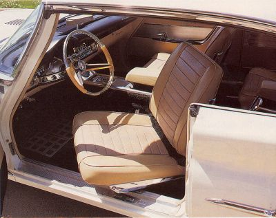 1960 Chrysler 300F has special trim and a sporty interior.