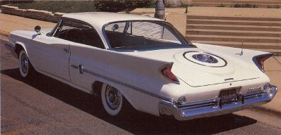 1960 Chrysler 300F was one of Chrysler's earlier muscle cars.