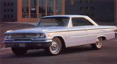 1963 Ford Galaxie 427 is a collector muscle car that won NASCAR's manufacturer's title for stock car racing.