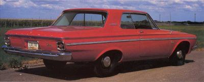 1963 Plymouth 426 Wedge is a muscle car. The Dodge Ram Charger is a stock car for drag racing.