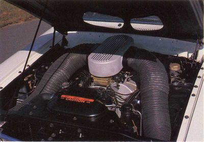 1964 Ford Thunderbolt had a racing engine, bringing this muscle car the stock-car racing NHRA's Manufacturer's Cup.