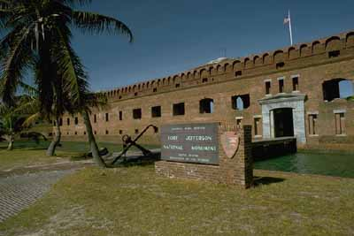 The Dry Tortugas were declared a wildlife refuge by President Theodore Roosevelt in 1908.