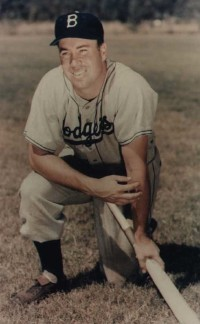 Duke Snider became the first slugger in history to bang out 40 homers without totaling at least 100 RBI.