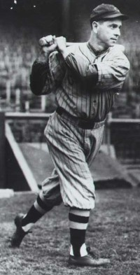 Earl Averill had to alter his hitting stance due to a leg ailment, which resulted in a slipping average.