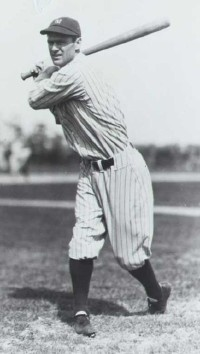 Combs was the first of a long tradition of great Yankees center fielders.
