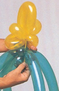 christmas balloon tree