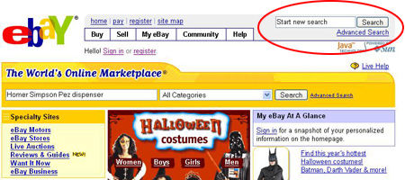 Using Ebay Searching For Items How Ebay Works Howstuffworks