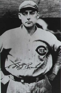 Edd Roush won two National League batting crowns.
