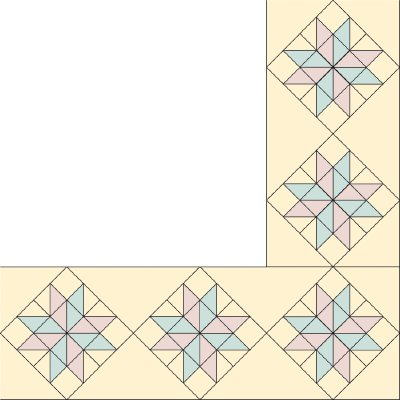 Eight Pointed Star Quilt Border Pattern | HowStuffWorks