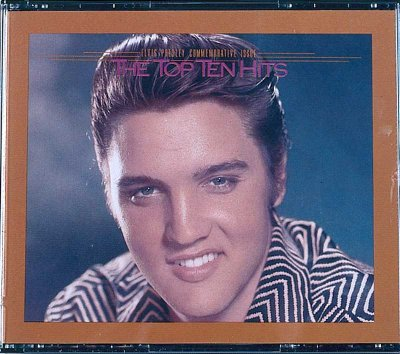 The Top Ten Hits includes Elvis Presley's biggest hit tracks.
