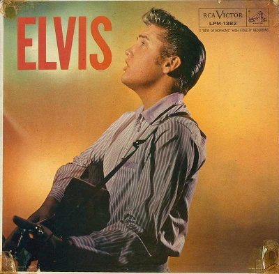 David B. Hecht photographed Elvis Presley for the cover of Elvis.