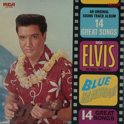 Deejays picked Elvis Presley's Blue Hawaii as a favorite album of 1961.