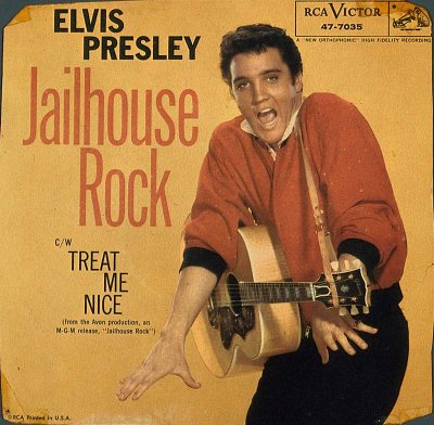 In Jailhouse Rock, Elvis kept the spirit of his early rock style and the quality that marked his early soundtracks.