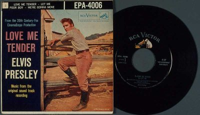 "The unprecedented advances sales from the song ""Love Me Tender"" inspired producers to make it the title of the movie."