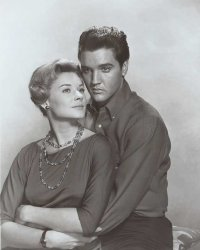 Elvis and Hope Lange in Wild in the Country
