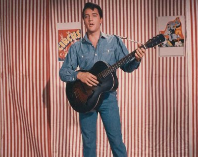 Elvis in Roustabout