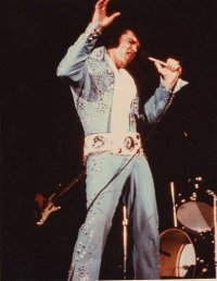 Elvis in Elvis On Tour
