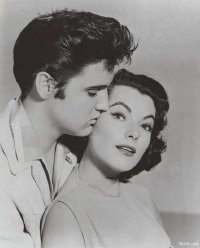 Elvis and costar in Jailhouse Rock