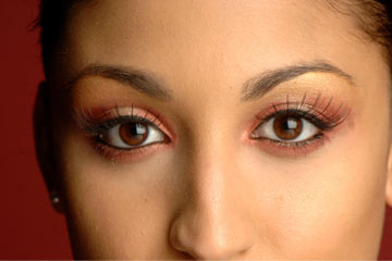 29930703579 False eyelashes used to be reserved for models and actresses -- but not  anymore.