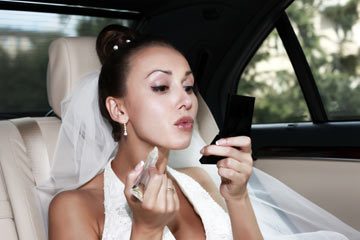 b12ed097444 If done correctly, false lashes can really pump up your bridal look.