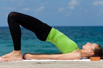 yoga pants on and off pics