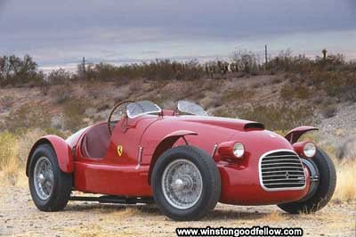 The Ferrari 166 Sport Corsa was the first car to wear the Ferrari badge.