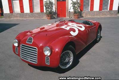 The Ferrari 125 S model was one of the earliest Ferraris.