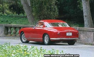 The Ferrari 250 Europa GT was first built on the chassi of the 375 America.