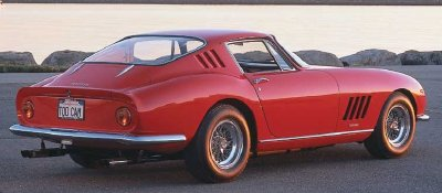 Another view of the 1966 Ferrari 275 GTB.