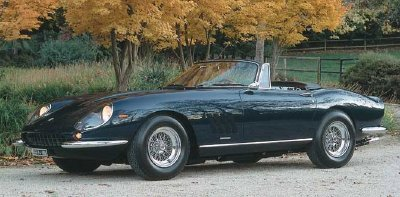 The 1967 Ferrari 275 GTB/4 NART Spyder.