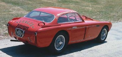 The Ferrari 340 Mexico featured the most extravagant coachwork to date for Ferrari.
