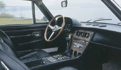 The interior of the 1967 Ferrari 365 GT 2+2.
