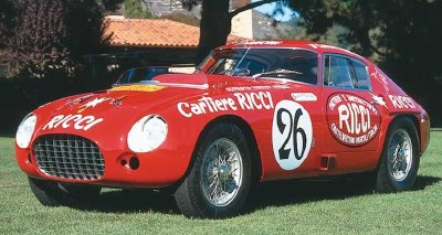 The Ferrari 375 MM would make Pinin Farina the Ferrari coachbuilder of choice.