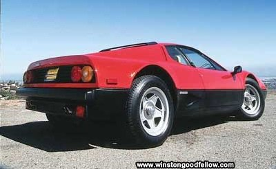The 1983 Ferrari 512 BBi.