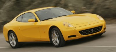 The Ferrari 612 Scaglietti had an all-aluminum construction to reduce weight.