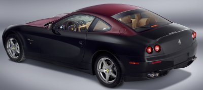 The Ferrari 612 Scaglietti can be ordered in almost any two-tone color combination.
