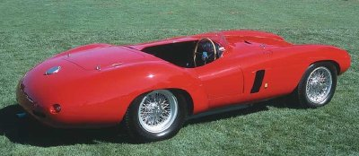 The Ferrari 750 Monza takes its name from the racetrack near Milan.
