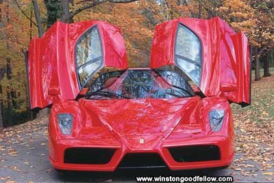 Ferrari conducted design studies for the 2003 Ferrari Enzo.