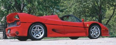 Ferrari sold out its production run of the 1995 Ferrari F50.