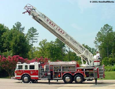 Going Up How Fire Engines Work HowStuffWorks