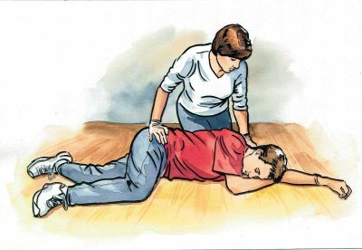 Recovery Position, first aid.