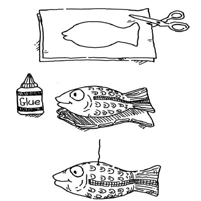 Puffy Fish Craft