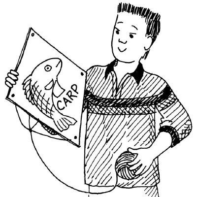 Carp Kite Fish Craft