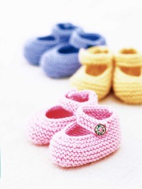 Free Baby Mary Jane Booties Knitting Patterns | HowStuffWorks
